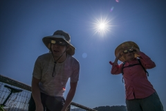 Here is our story of the amazing great American Eclipse as seen from Jackson. https://www.travelisbeautiful.com/blog/eclipse
