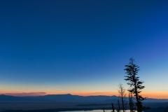 Total Solar Eclipse over Jenny Lake