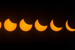 Eclipse Phases from Full to Totality