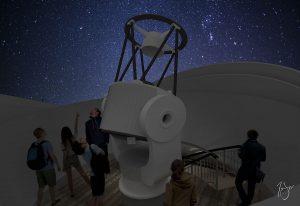 Snow King Observatory Interior