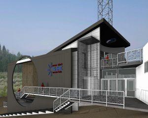 Snow King Planetarium Exterior