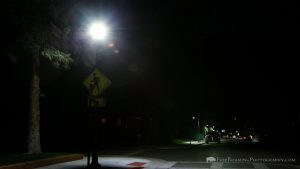 White LED Streetlight