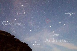 How to Find the Andromeda Galaxy