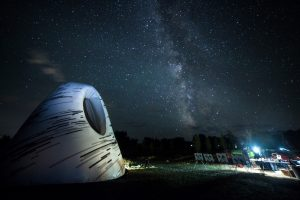Portable Planetarium and Dark Sky Pavilion