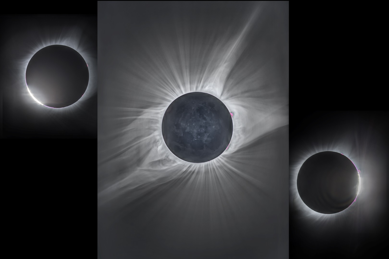 Total Solar Eclipse Corona Composite