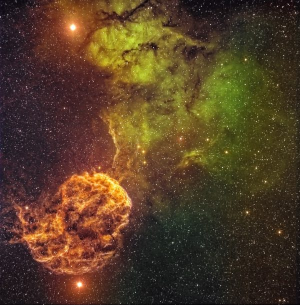 IC 443 - Jellyfish Nebula