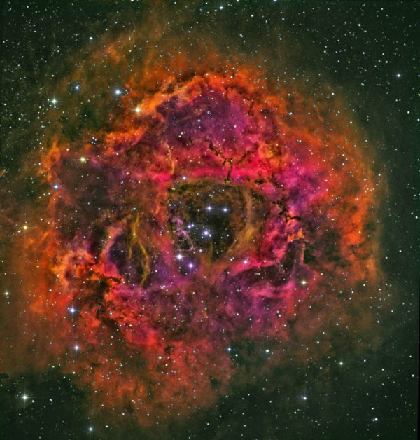 NGC 2239 - Rosette Nebula - True Color