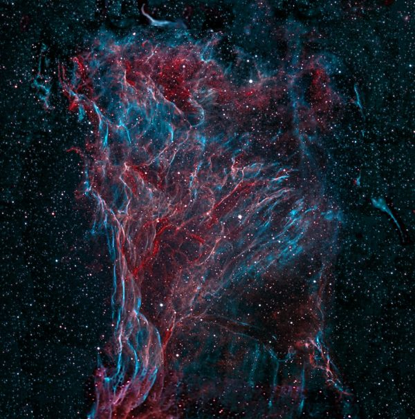 NGC 6960 - Veil Nebula - Picherings Triangle