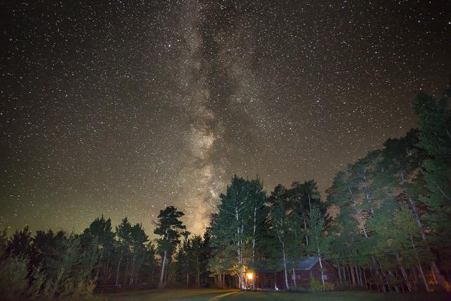 Night Sky over the Absaroka Ranch