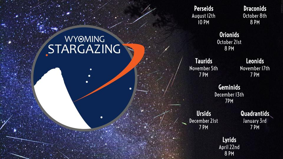 Calendar of Events - Wyoming Stargazing